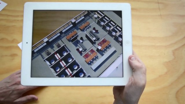 Augmented Reality Presentation App Demo