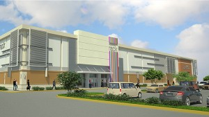 Mall Exterior Renderings