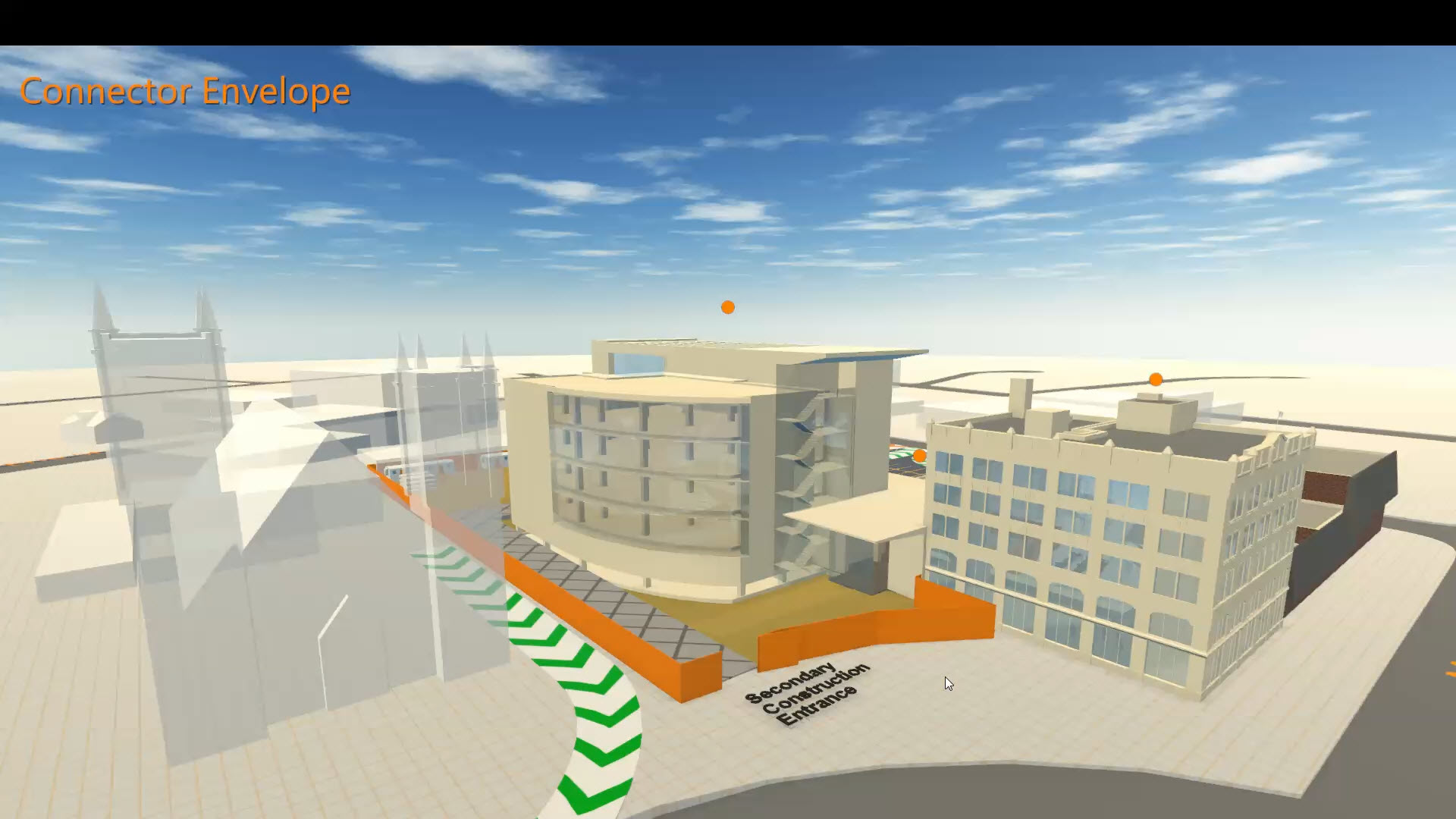 Interactive 3D Construction Site Presentation